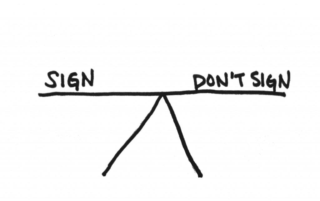 SignDontSign