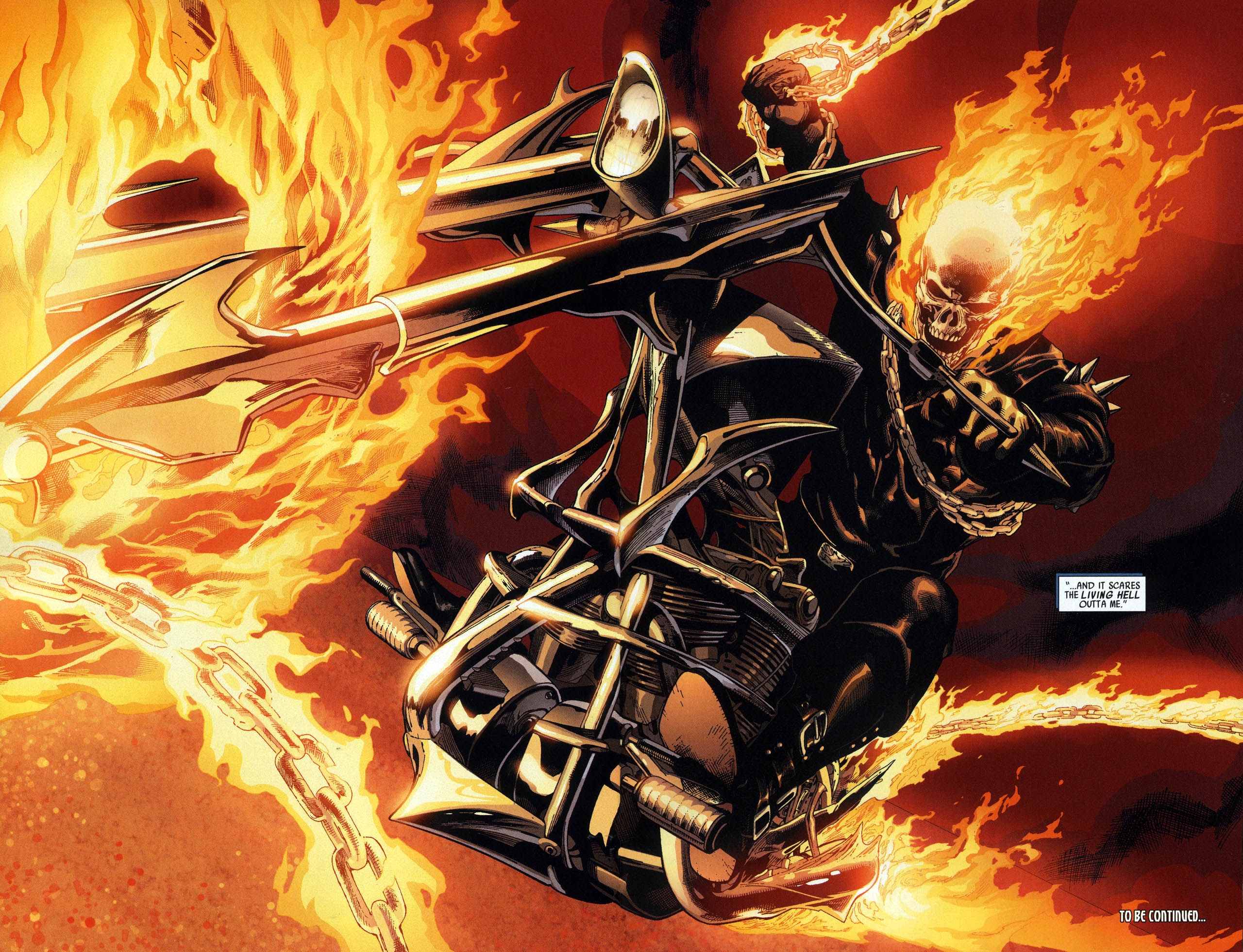 Ghost Rider in Ultimate Avengers 2 #2
